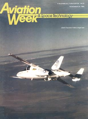 Cover for the November 25 1985 issue