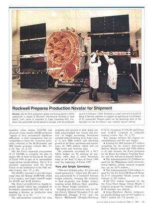 Rockwell Prepares Production Navstar for Shipment, Page: 29 - MAY 4, 1987 | Aviation Week