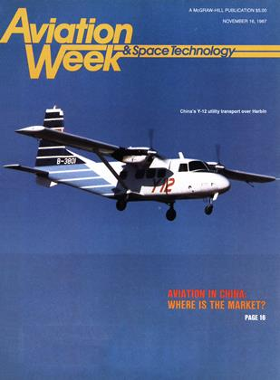 Cover for the November 16 1987 issue