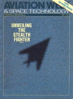 Aviation Week & Space Technology, Page: 0_1 - MAY 1, 1989 | Aviation Week
