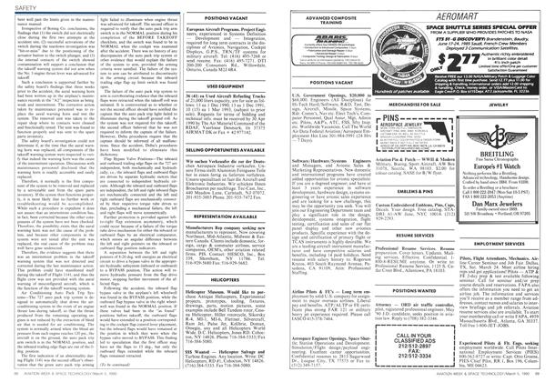 Advertisement, Page: 88 - MARCH 5, 1990 | Aviation Week
