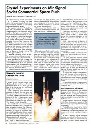 Seventh Navstar Orbited by Delta, Page: 28 - APRIL 2, 1990 | Aviation Week