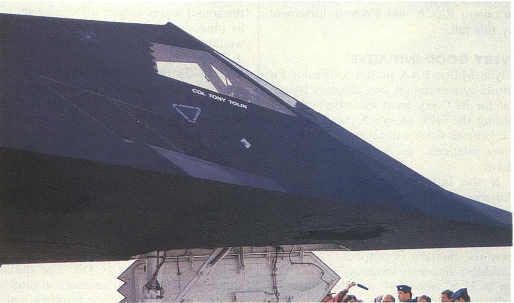 F-117A Provides New Freedom In Attacking Ground Targets, Page: 106 - MAY 14, 1990 | Aviation Week