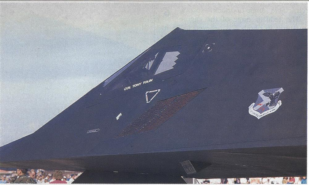 F-117A Provides New Freedom In Attacking Ground Targets, Page: 107 - MAY 14, 1990 | Aviation Week