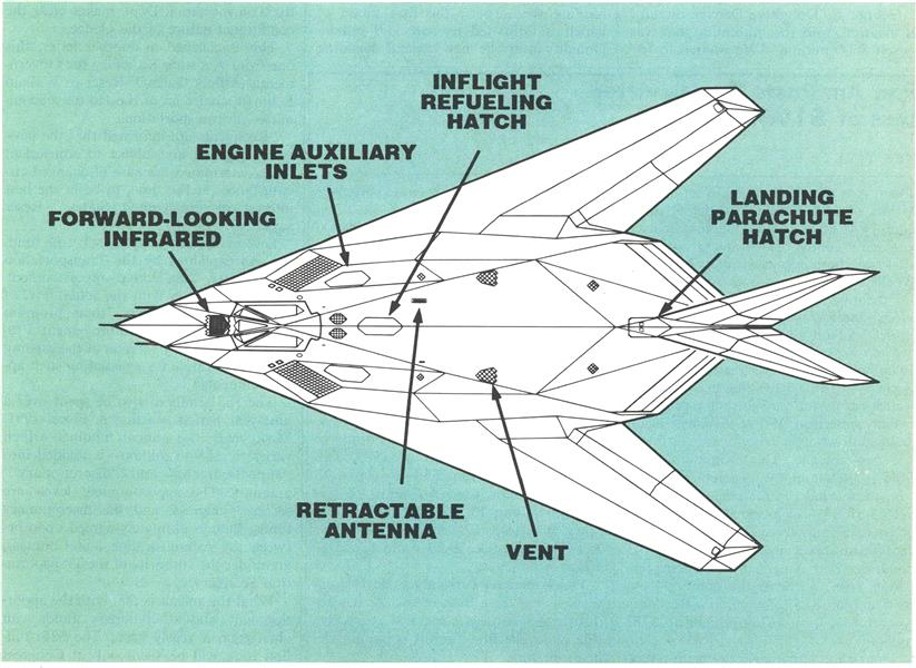 F-117A Provides New Freedom In Attacking Ground Targets, Page: 109 - MAY 14, 1990 | Aviation Week