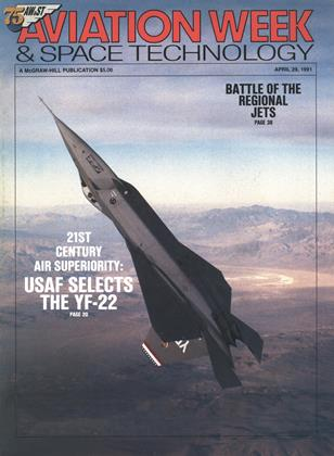 Cover for the April 29 1991 issue