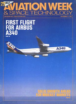 Cover for the November 4 1991 issue