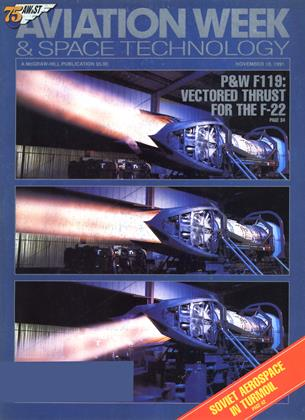 Cover for the November 18 1991 issue
