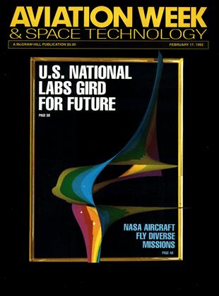 Cover for the February 17 1992 issue
