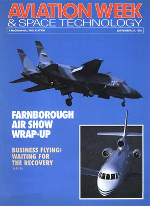 Cover for the September 21 1992 issue
