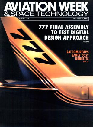 Cover for the October 12 1992 issue