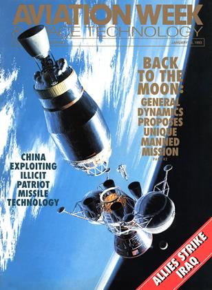 Cover for the January 18 1993 issue