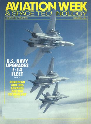 AVIATION WEEK & SPACE TECHNOLOGY, Page: 1 - FEBRUARY 8, 1993 | Aviation Week