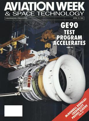 Cover for the April 19 1993 issue