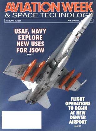 Cover for the February 28 1994 issue