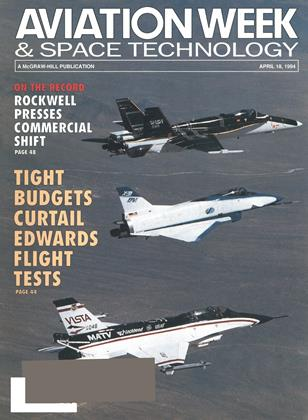 Cover for the April 18 1994 issue