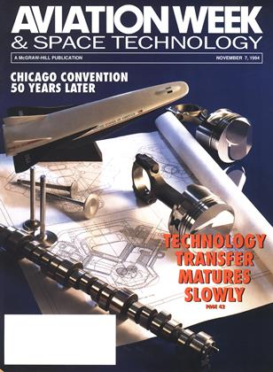 Cover for the November 7 1994 issue