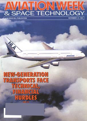 Cover for the NOVEMBER 21 1994 issue
