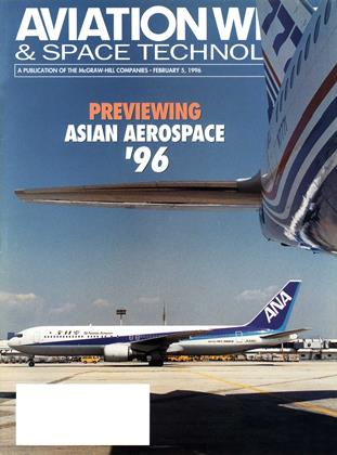 Cover for the February 5 1996 issue