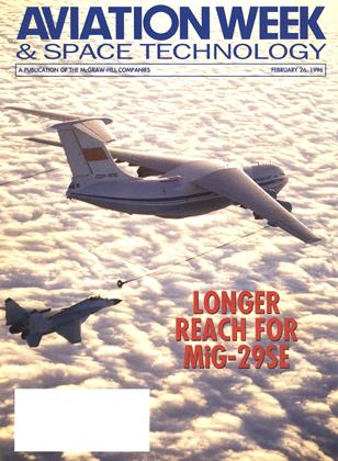 Cover for the February 26 1996 issue