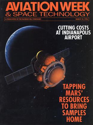 Cover for the March 18 1996 issue