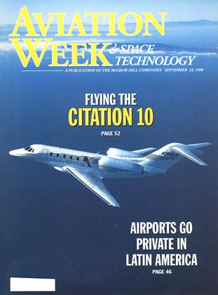 Cover for the September 23 1996 issue