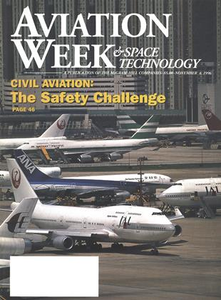 Cover for the November 4 1996 issue