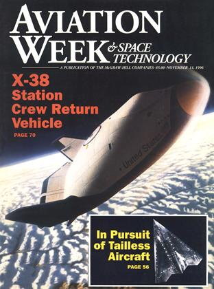 Cover for the November 11 1996 issue