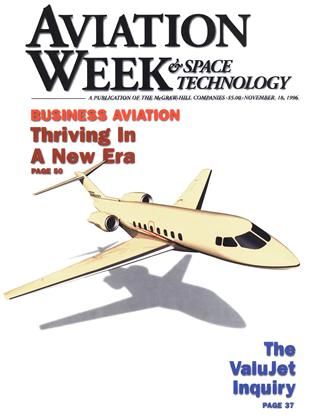 Cover for the November 18 1996 issue