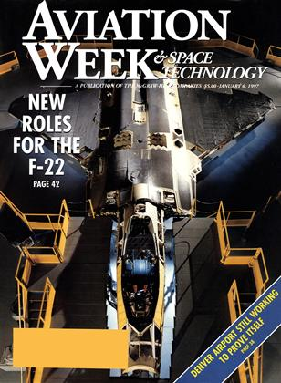 Aviation Week & Space Technology, Page: 1 - JANUARY 6, 1997 | Aviation Week