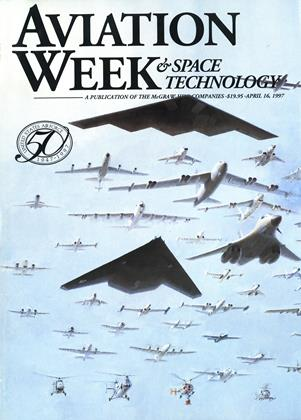 AVIATION WEEK & SPACE TECHNOLOGY, Page: 1 - APRIL 16, 1997 | Aviation Week
