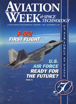 Cover for the September 15 1997 issue