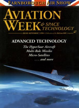 Cover for the September 7 1998 issue