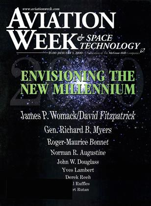 Cover for the January 1 2000 issue