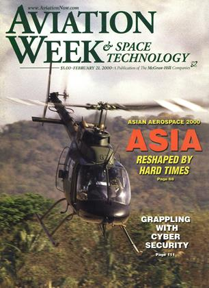 Cover for the February 21 2000 issue