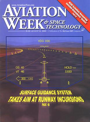 Cover for the August 14 2000 issue