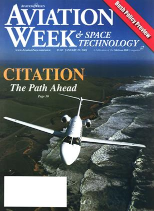 Cover for the January 22 2001 issue