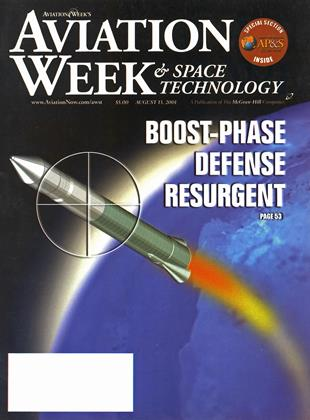 Cover for the August 13 2001 issue