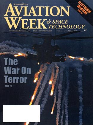 Cover for the October 1 2001 issue