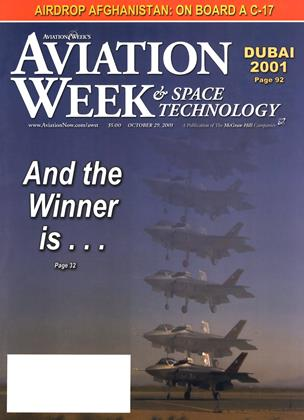 Cover for the October 29 2001 issue