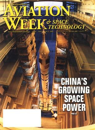 Cover for the November 12 2001 issue