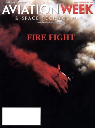 Cover for the November 3 2003 issue
