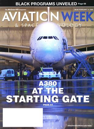 Cover for the February 14 2005 issue