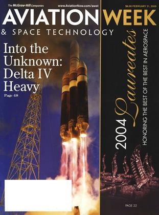 Cover for the February 21 2005 issue