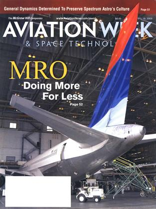 Cover for the April 18 2005 issue