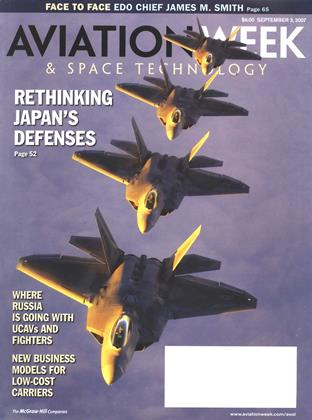 Aviation Week & Space Technology, Page: 1 - SEPTEMBER 3, 2007 | Aviation Week