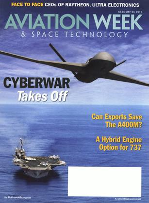 Cover for the May 23 2011 issue