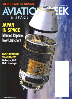 Cover for the August 8 2011 issue