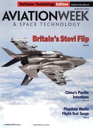 Cover for the July 2 Defense Technology Edition 2012 issue