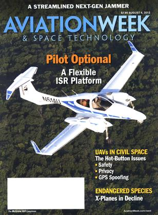 Cover for the August 6 2012 issue